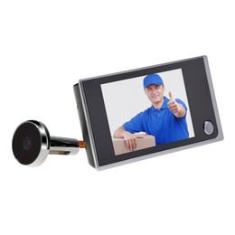 Wholesale Lcd Digital Door Viewer - 3.5 inch LCD Display Digital Video Door Peephole Viewer 120 Wide Angle Auto 2.0 Mega Pixel Camera