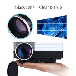 Wholesale Banks Education - Wholesale-Full HD 3D GM50 1920*1080 HD Home Theater Mini LED TV Projector Beamer SD HDMI VGA AV USB Power Bank Video Projectors