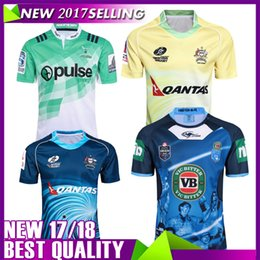 Wholesale Australia Free - Free shipping NRL National Rugby League top quality 2017 Australia Sydney Roosters Rugby Jerseys 9S rugby shirts Roosters Jersey size S-3XL