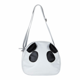 2019 женские сумочки оптом Wholesale- Fashion Women Bag Cartoon Panda Shell Bag Famous Designer Sling Shoulder Bag Ladies Handbag Crossbody Bolsa Feminina sac a main скидка женские сумочки оптом