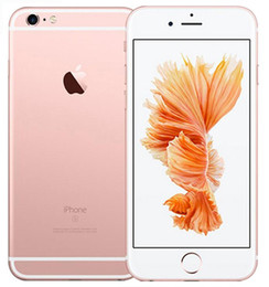 Wholesale Pink Cell Phones Unlocked - Refurbished Original Apple iPhone 6S Plus Unlocked Cell Phone 5.5 Inch 16GB 64GB 128GB Dual Core iOS 9 With Touch ID