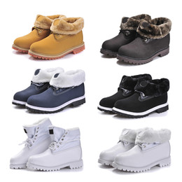 Wholesale Sport Pony - 2017 Fashion Classic 10061 Winter Warm Snow Boots Best Quality Yellow Black White TBL Snow Ankle Boots Waterproof Outdoor Sports Shoes