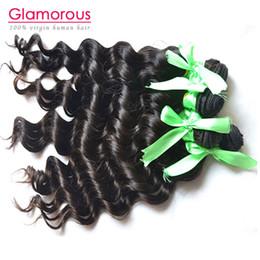 Wholesale Eurasian Virgin - Glamorous Eurasian hair natural wave top quality human hair 4 bundles brazilian virgin hair weave for black women