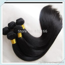 Wholesale Hair Extensions Top Rated - Top Rated Muse Hair Bulk Price Brazilian Virgin Hair Extensions Mixed 8bundles Straight Soft Virgin Hair Weft Free Shipping