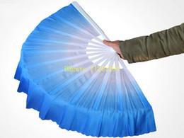 10pcs / lot liberano il velo di seta del ventilatore cinese di nuovo arrivo di trasporto 5 colori disponibili per il regalo di favore della festa nuziale da bastone di farfalla rosa fornitori
