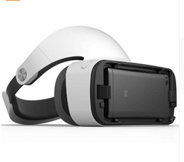 Wholesale Adjustable Focus Glasses - Original XIAOMI MI VR Headset Virtual Reality Glasses with 9Remote Controller Focus Adjustable for XIAOMI MI5 MI5S 5s Plus Note2 Mi6