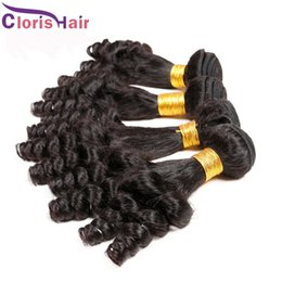 Wholesale Hair Weave Wholesalers China - Best Quality 1kg Nigeria Aunty Funmi Hair Cheap Peruvian Human Hair Weave Bouncy Romance Curls Hair Extensions 100g China Factory Wholesale