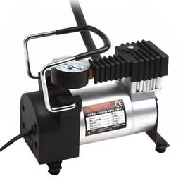 12v автомобильные воздушные компрессоры онлайн-Портативный воздушный компрессор сверхмощный 12 В 140PSI / 965kpa насос электрические шины Инфлятор уход за автомобилем инструмент CEC_011