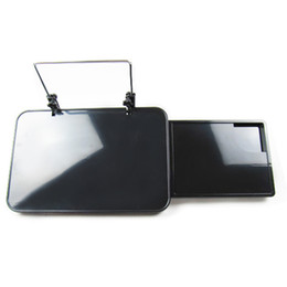 Wholesale Dining Car - Wholesale- Universal Car Kit Writing Desk Car Kit Multi-Functional Laptop Holder Dining Table Computer Desk With Drawer