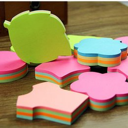 Wholesale memo flags - Multicolor Sticky Notes Cute Office Love Memo Pads Sticker Post It Bookmark Marker Flags Sticker Planner Briefpapier