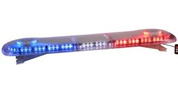 Wholesale Tow Trucks Lights - Free shipping 47 inch 3 Watt LEDs super bright police lightbar law ambulance lightbar emergency vehicle warning lightbar tow truck lightbar