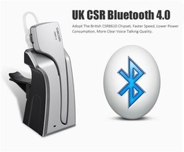 Wholesale Extra Battery For Iphone - Dacom C-Blue1 XL Noise Cancelling Stereo Wireless NFC Bluetooth 4.0 Earphone Headset With Extra 500mAh Backup Battery Dock For Smartphones