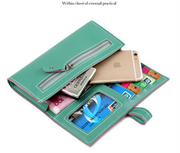Wholesale Best Cell Phone Holder - 2017 Best Deal Fashion Handbags Lady Women Wallets Bag Popular Purse Long PU Handbags Card Holder Birthday Bags
