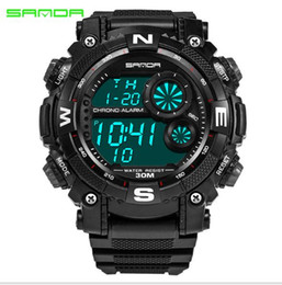 Wholesale Mountaineering Watches - Brand sanda Outdoor men's sports watch Korean personalized youth table multi-functional mountaineering watches