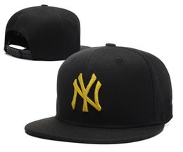 Wholesale Ny Snapbacks - Classic Fashion NY Baseball Cap Hats NY Retro Snapbacks Women Men Snapback Trucker Hats