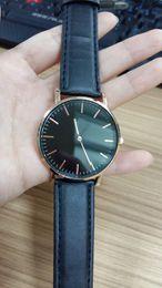 Wholesale Watch Buckles Wholesale - Nylon New Release classic black watch luxury style fashion Daniel D brand new men watches quartz