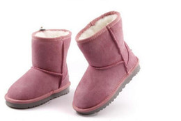 Wholesale Womens High Snow Boots - Free shipping 2018 High Quality Boys and girls WGG Women's Classic tall Boots Womens boots Boot Snow Winter boots leather boot EUR 22---45