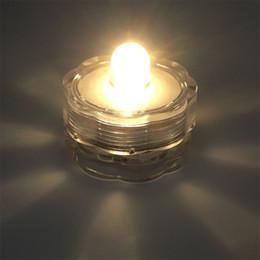serbatoio di pesci dell'acquario dei leds Sconti Il vaso decorativo della prugna del giorno di Natale LED può cambiare il grado impermeabile IP68 della luce della candela della batteria 2032 bianco caldo