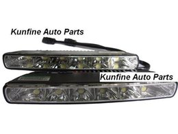 Wholesale E8 Light - Free Shipping E8 Certificated Auto LED Daytime Running light with High Power LED Fog light KF-L1045
