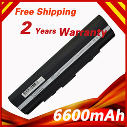 Wholesale Batteries For Asus - Wholesale- 9 cells Laptop Battery For Asus Eee PC 1201 1201T UL20 UL20A X23 Pro23 90-NX62B2000Y 90-XB0POABT00000Q 9COAAS031219 A32-UL20