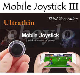 Wholesale Touch Generations - 2017 Newest Universal Mini Mobile Joystick 3 The Third Generation Joysticks Game Rocker Touch Screen Joypad Controller For iPad Samrtphone