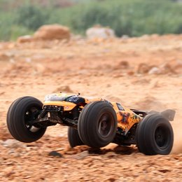 Wholesale Nitro Channel Rc Cars - Wholesale- Vkarracing 1 10 2.4G 4WD Brushless Off-Road Truggy BISON RTR 51201 Rc Car With Remote Control Toys