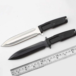 Wholesale Extrema Ratio Fixed - Italy EXTREMA Ratio venom knifes fixed blades tactical dagger N690 steel 58HRC pocket knives outdoor camping hunting straight knife