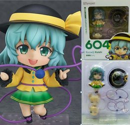 Wholesale Touhou Action Figure - Japanese Anime Komeiji Koishi Touhou Project figure 604# Q Ver. action model Nendoroid boxed figures 10cm T7071