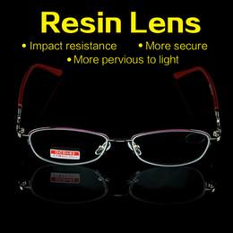 a5792d9eef Lente de Aspheric de la lente de la resina de la revestimiento de las  mujeres libres de los vidrios de lectura del envío que envía libremente  Gafas de ...