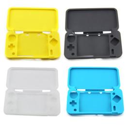 Caso para 2ds online-Nueva funda protectora de silicona para la cubierta de silicona para la nueva consola Nintendo 2DS XL / 2DS LL Gamejoypad