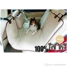 Wholesale Waterproof Nylon Car Seat Covers - Waterproof Pet Hammock Travel Dog Rear Car Seat Proctetor Blanket Pet Cover Dog Car Seat Proctetor