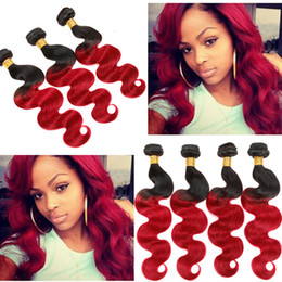 Wholesale Synthetic Body Wave Weave - Fashionkey Best Selling 2 Tone Ombre Hair Body Wave Sexay Woman Synthetic Hair 3 Bundles Deal 300g Body Wave Ombre Hair Weave