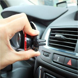 Wholesale Phone Magnet Car Mount - 2017 Magnetic Air Vent Mount car holder car Phone Holder for Mobile Smartphone Stand Magnet Support Cell Cellphone car holder