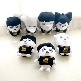 Wholesale Bts Group - New 1PCS 22CM Korea BTS bulletproof youth group dolls soft ugly doll plush toys creative children gifts