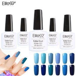 Wholesale Design Art Polish - Wholesale-Elite99 10ml UV Gel 12pcs Set Gelpolish Soak Off UV Lamp Nail Art Nail Gel Polish Fashion Design Hot Sale Nail Gel Lacquer