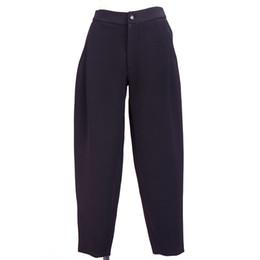 Wholesale Haren Pants Women - 2016 new woolen pants for women lady's fashion loose solid Haren pants trousers Tops Qulity Clothing