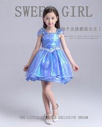 Wholesale Evening Dress Cinderella Style - 2017 new Princess Cinderella dress 2017 summer burst models of high-quality evening dress holiday dress Puff