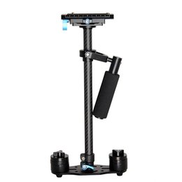 Wholesale Mini Handheld Steadicam Stabilizer - S60T Professional Portable Carbon Fiber Mini Handheld Camera Stabilizer DSLR Camcorder Video Steadicam Better than S60