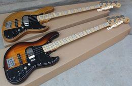 Wholesale Jazz Pickups - Marcus Miller Signature 4 String Sunburst Jazz Electric Bass Guitar Maple Neck,Active Pickups 9 Batteryt Box, 3-bolt Micro-Tilt Neck Joint