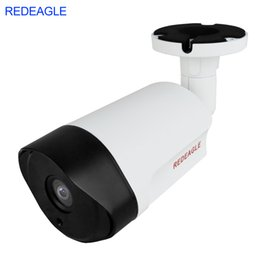 Wholesale Ccd Bullet Cameras - REDEAGLE 1080P 2MP AHD Outdoor Security Camera HD Sony IMX323 Waterproof Night Vision Metal Body Bullet Cameras