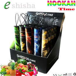 vapor sticks Coupons - Shisha time disposable vape pen e cigarette vape cartridges tank stick Ecig 500 puffs 35 flavors hookah time vaporizer vapor mod