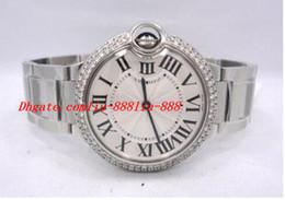 Wholesale Unique Sapphires - Luxury Watches Original Box Gift Luxury Top Quality Sapphire BRAND NEW DIAMONDS BEZEL 36MM W69011Z4 Quartz Movement Watch Unique