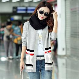 Wholesale Cheap Geometric Sweaters - Wholesale- YX1142-13 Cheap wholesale 2017 new Autumn Winter Hot selling women's fashion casual warm nice Sweater