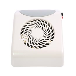 Wholesale Nail Art Dust Collector - collector Strong Power 2500RPM Collector Machine Pro Salon Finger Cleaning Suction Dust Collection Fan Nail Art Tools