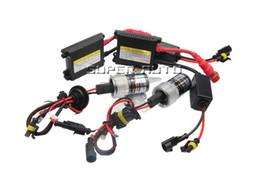 Wholesale Hid Xenon Bulb Ballast - Slim Ballast Xenon Hid Kit 55W H4 H1 H3 xenon H7 H8 H10 H11 H27 HB3 HB4 H13 9005 9006 Car light Headlight bulbs lamp