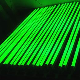 Ha condotto il colore del tubo di t8 online-Luci a colori di tubi T8 LED 5ft 4ft 3ft 2ft 1ft integrato 5-24W AC85-265V rosso giallo 2835SMD lampadine fluorescenti diretta fabbrica di Shenzhen Cina