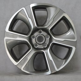 Wholesale Wholesale Price Rims - Gray face replica wheel rims size 20x10 inches aluminum alloy wheel with best price