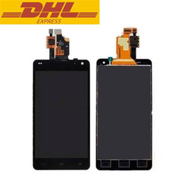 Wholesale Original Lg Optimus - Original E975 LCD For LG Optimus G LS970 E973 E977 F180K F180S F180L Touch Screen Digitizer With Display Assembly DHL Freeshipping
