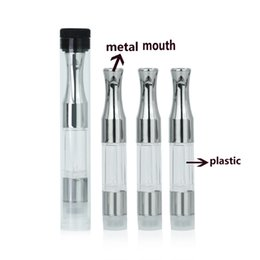 Wholesale Ego 8ml - G2 cartridge 510 Co2 atomizer .5ml .8ml metal tip ce3 vaporizer for wax Thick oil fit bud touch battery ego thead preheat pen