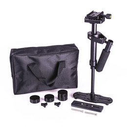 Wholesale Steadicam Dslr Stabilizer - Freeshipping DSLR S40 5D2 Professional handheld Camera stabilizer rig DSLR mini camcorder steadicam Smartphone video steadycam glidecam